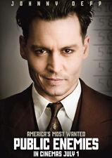 Public Enemies Johnny Depp Repro Film POSTER
