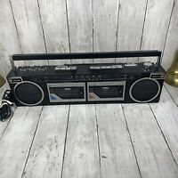 Sears And Roebuck SR 2000 Series Stereo Boombox Cassette Radio Ultra Rare Works!