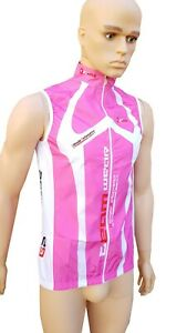 women Cycling Gilet pink bicycle top sportswear