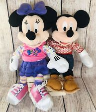 New listing Hallmark Mickey Mouse 14� And Disney Minnie Mouse 16� Plush Lot Of 2