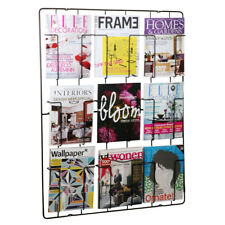 Frame-9 Magazine Rack - Matt Black