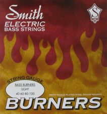 KEN SMITH BBL BURNERS  NICKEL BASS STRINGS,  LIGHT GAUGE 4's - 40-100