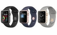 Apple Watch Series 2 Aluminum Sport 38mm or 42mm Silver Rose Gold Space Gray