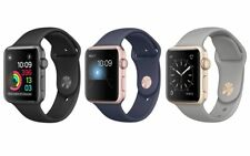 Reloj de Apple serie 2 Aluminio Sport 38mm o 42mm Plata Oro Rosa Gris Espacio