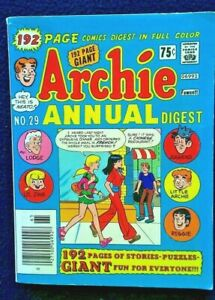 ARCHIE Annual Digest #29, 1977   9.0 VF/NM Unread!