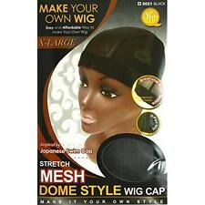 Mesh Dome Style Wig Cap Extra Large by Qfitt New
