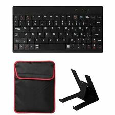 USB Keyboard Kit Portable Mini Stand Holder Case Cover Bag For 10'' Tablet PC