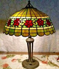 Handel Leaded Glass Lamp - Tiffany Duffner Wilkinson Deco slag art glass era