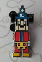 Sorcerer 8 Bit Video Game Character 2019 Hidden Mickey DLR Disney Pin 135107
