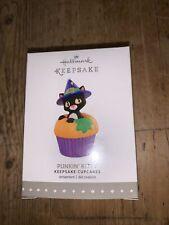 New ListingHallmark Keepsake Ornament Halloween 2015 Punkin Kitty cupcakes 3rd Third series