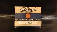 Packard Custom Made Perfect Circle Piston Ring Set #330695 NEW OLD STOCK NOS