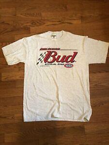 NHRA Kenny Bernstein Budweiser 2001 t shirt NWOT