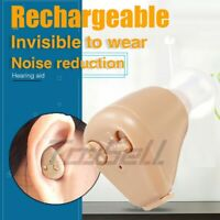 ITE Ear Aids Digital Rechargeable Hearing Aid Severe Loss High-power Gift News