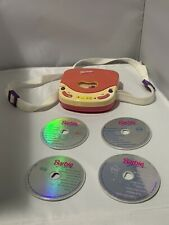 Barbie For Girls ~ Pretend Cd Player (1995) Mattel Be-150 (Works)