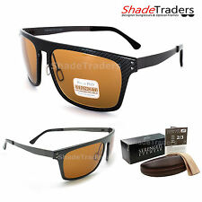 SERENGETI FERRARA SUNGLASSES CARBON FIBRE POLARIZED PHOTOCHROMIC DRIVERS 7897
