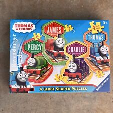 Ravensburger Puzzle Thomas & Friends 4 Large Shaped Puzzles Percy James Charlie