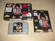 WWF War Zone N64 Spiel komplett mit OVP und Anleitung