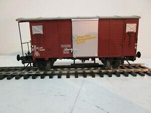 Spur 0 - Modell - Gedeckter Güterwagen-Gklm - der SBB-CFF - unbenutzt.
