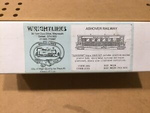 Wrightlines Narrow Gauge Ashover Railway Gloucester Coach Twin Pack Kit.