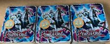 3x Yugioh Collectible Tin Number 10 Illumiknight Sealed Solemn Warning + Packs