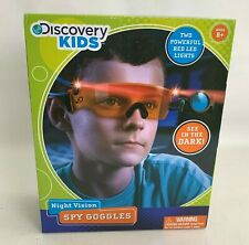 Discovery Kids Night Vision Spy Goggles LED Light Glasses See In The Dark NEW