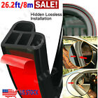 26Ft L Shape Car Door Rubber Seal Strip Hood Trim Edge Moulding Weatherstrip <br/> High Strength / Non-Toxic /Don't wash within 3days⭐⭐⭐⭐⭐