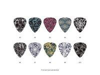 Lace Pattern Guitar Pick Set (10pcs) BUY 2 SAME GET THE 3RD FREE