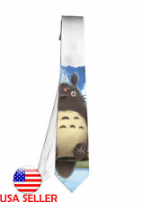 Totoro Movie Necktie Neck Tie Men Halloween Tie Cosplay Anime Unique Hot Gift