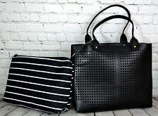 A New Day Crossbody Gold Zipper Bag NWT Womens Black Adjustable Backpack