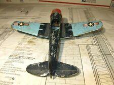 Vintage Hubley Kiddie Toy Airplane Fighter BomberToy Model 495