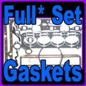 Full set* of Gaskets for Ford 272, 292, 312 Y Block V8 1955-1964