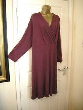 plus size 32 DRESS FAUX WRAP COOL MIDI LA REDOUTE PARTY WEDDINGholiday new