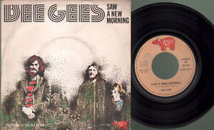 Bee Gees - Saw a new morning/My life