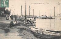 OUISTREHAM - le port et le phare