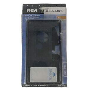 RCA VCA113 Universal Cassette Adapter VHS-C Cassette To Play In VHS Recorder NEW