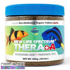New Life Spectrum THERA +A Regular Pellet 300g Fish Food Fast Free USA Shipping