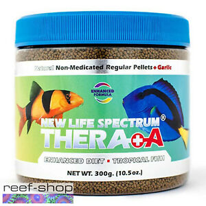 New Life Spectrum THERA +A Regular Pellet 300g Fish Food Fast Free USA Shipping