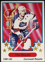 1991-92 7th Inning Sketch OHL Hockey Cards (1-339) - Pick Your Card