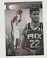 2018-19 Panini ESSENTIALS #204 DEANDRE AYTON RC Rookie Phoenix Suns
