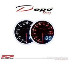 DEPO RACING DIGITAL + ANALOG BATTERIESPANNUNG ANZEIGE / VOLTAGE GAUGE WA5291BLED