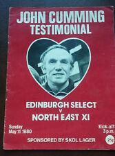 More details for john cumming heart of midlothian 1980  testimonial program
