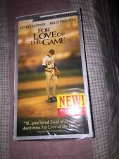 For Love of the Game (VHS, 2000, Special Edition) Kevin Costner NEW SEALED