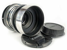 Helios 44-2 16 iris blades 58/F2 silver soviet portrait 4K lens for Canon EF