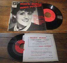MARIE DUBAS - Mon Legionnaire French EP Sixties Pop Columbia Avec Languette