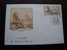 FRANCE - enveloppe 1er jour 26/2/1983 (journee du timbre) (cy99) french