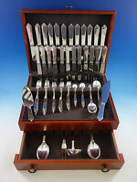 Pyramid by Georg Jensen Sterling Silver Flatware Set 12 Service 112 pcs Dinner