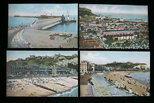 4 Dover UK England Postcards Pictorochrom Colored Unposted c 1900 Peacock Series