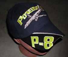 BOEING P-8 POSEIDON US NAVY VP Patrol Squadron HAT With Patch Like Image