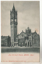 New Old South Church - Boston Photo Postcard c1902