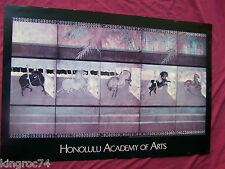 """VERY FINE!- 1990 Poster for, """"THE HONOLULU ACADEMY OF ARTS!"""""""